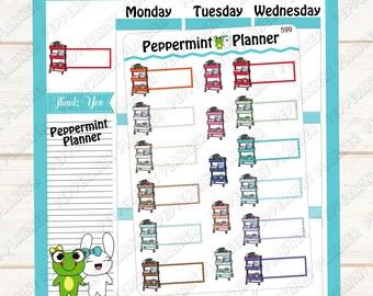 Planner Cart --- Planner Stickers ---599