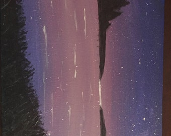 Nighttime Nature Painting