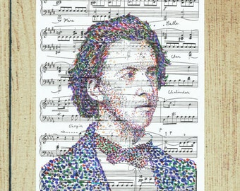 Frederic Chopin, a portrait of the composer to the tune of Portrait in a Nocturne