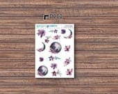Moon & Back Deco Stickers | ECLP | Happy Planner | Recollections Planner