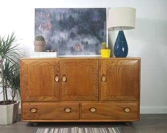 Ercol Windsor Sideboard - Refinished - Delivery