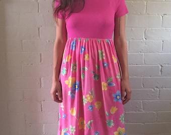 Hot Pink Sundress