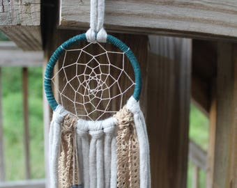 Teal Dream Catcher