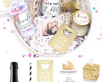 Will you be my Bridesmaid Gift - Bridesmaid Box Set - Ask Bridesmaids - Maid of Honor - Wedding Party Gift - Thank you Gift