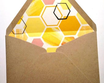 Beehive envelopes