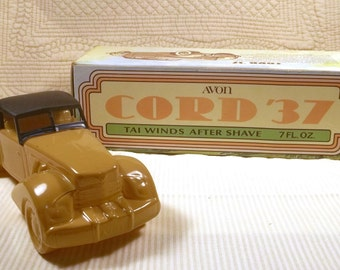 Avon Decanter-Vintage Collectible- Cord 37