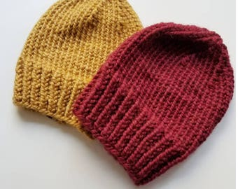 Solid color Knitted Hat