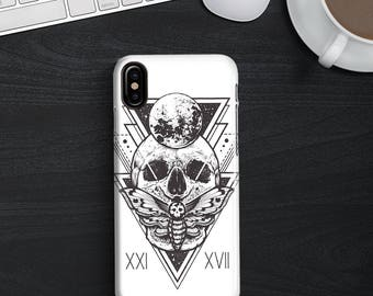 Mystical Skull Phone case iPhone 8 Case iPhone 8 PLUS Case iPhone X Case iPhone 10 Case iPhone 7 Case iPhone 7 plus Case Gift
