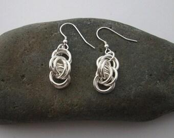 10mm Double Spiral Earrings