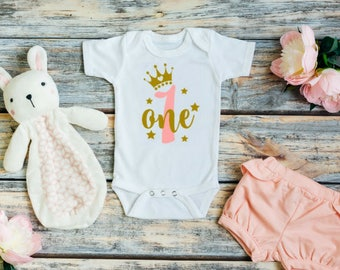 1st birthday girl outfit - 1st birthday girl - One birthday outfit - Girl 1st birthday outfit - Cake smash outfit girl - Smash cake outfit