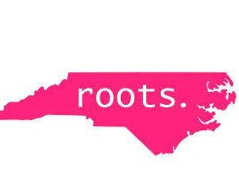 roots. ANY STATE AVAILABLE- Quality Vinyl Decal; Get outside! hiking decal, Yeti decal, car decal, window decal