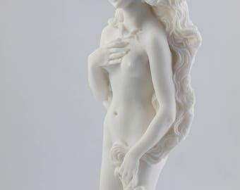 "Rising Venus Aphrodite Zeus Daughter Greek Goddess Statue Sculpture 9.8"" 25cm"