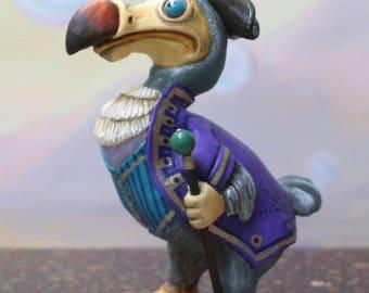 Dodo figurine / the Dodo/Alice's Adventures in Wonderland/Lewis Carroll/Alice in the Wonderland/Alice/art doll/Capt Dodo / doll/dodo bird