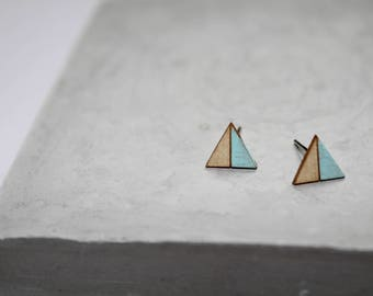 Victoria | Triangle Earrings