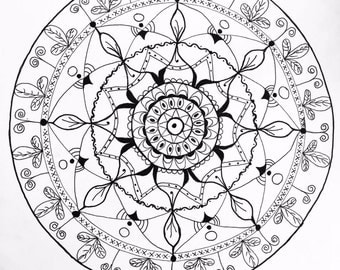 Self made Mandala art!