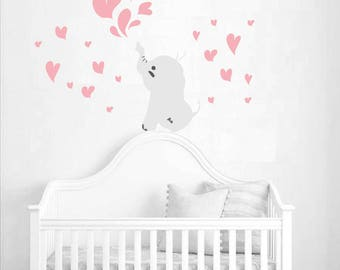 Wall stickers nursery elephant NR 52