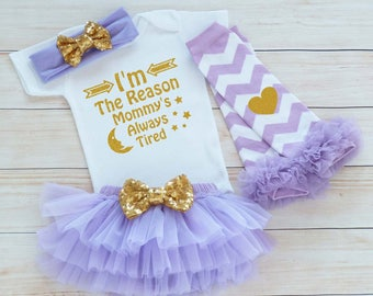 Baby Girl Outfit, Baby Girl Take Home Bodysuit, Baby Coming Home Shirt, Newborn Outfit, Mommy Daughter Shirt, Baby Shower Gift, Infant Shirt
