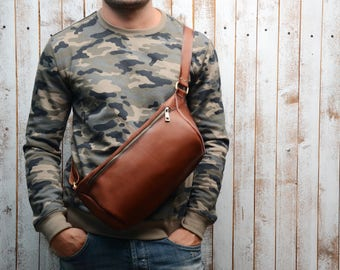 Fanny Pack, Leather Fanny, Leather pouch, leather fanny pack, Leather boho, Leather Bag, Men messenger, Leather Hip Bag, belt bag, hip bag