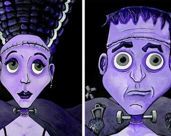 Frankenstein Husband and Wife