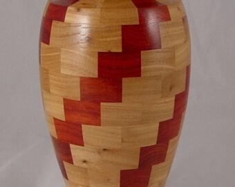 Segmated Sprial Vase