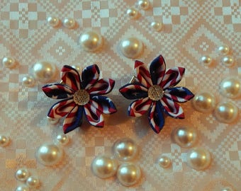 July 4th Baby Hair Clips