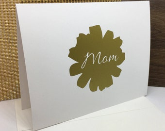 Birthday Card to Mom - Card for Mom - Mom Birthday Card - Simple Card for Mom - Mom of the Year - Cards for Mom - Bday Card for Mom