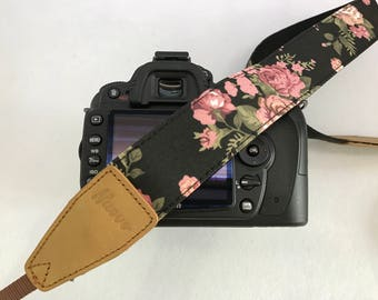 Promotion! NuovoDesign floral fabric camera strap for DSLR and mirrorless, Selected discounted item limited time and quantity offer