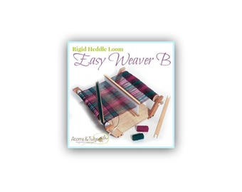 "18"" Rigid Heddle Loom by Harrisville Designs - Easy Weaver B, For Beginners and Children, School Weaving Loom, Back to School Gift"
