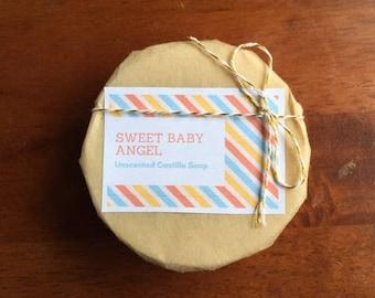 MFM Series- Sweet Baby Angel Handmade Soap