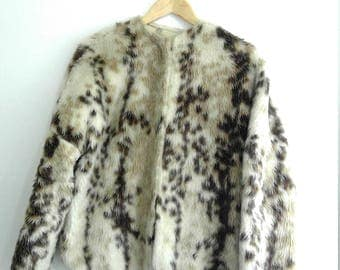Epic animal print jacket