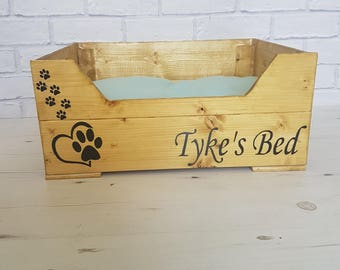 Personalised cat bed, ideal for small pet