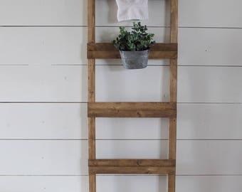 Vintage Bucket Ladder