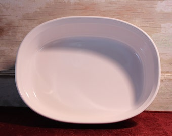 1.5 Quart Oval Casserole French White by Corning F-12-B