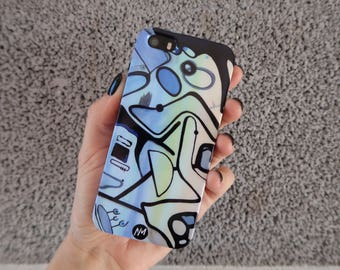 Party of Three - Smartphone case for iPhone 5/5s by Ninah Mars