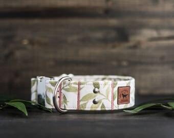 Floral Dog Collar Flower Dog Collar Dog Collars Boho Dog Collar Female Dog Collar Girl Dog Collar Custom Collar Personalized Collar
