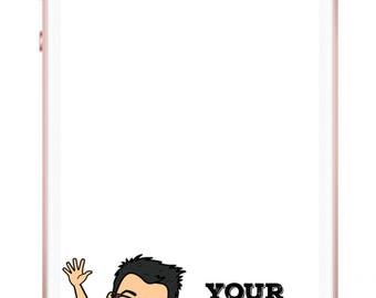 Custom Bitmoji Snapchat Filter Geofilter, Custom Graduation Geofilter, Custom Wedding Snapchat Geofilter, Custom Birthday Snapchat Geofilter