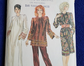 Vogue 8181 Pattern, Sz 14, A Line Dress or Top
