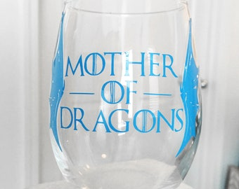 Game of Thrones - Mother of Dragons (Mug or Stemless Wine Glass)