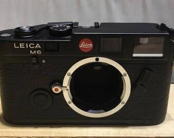 Leica M6 Black Body