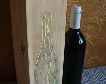 Wooden packages for wine