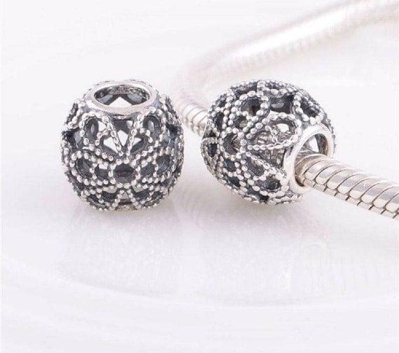 best website 5b280 2f8eb Openwork Roses Silver Charm Pandora Significato | Mount ...