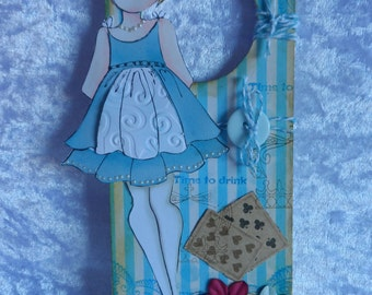Door Hanger; Disney Bound; Alice in Wonderland; Door Sign
