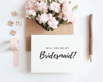 will you be my//bridesmaid printable//DIY Wedding//A6 Post card//Printable Bridesmaid//Bridesmaid Invitation//Bridesmaid Proposal//download