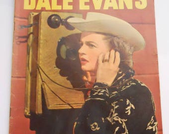 Dale Evans Comic, Queen of the West Comic, Vintage Dell Comics, Silver Age Comic Book No. 13, Oct-Dec. 1956