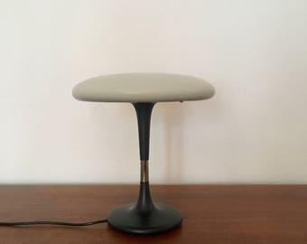 Mid-century atomic mushroom table Lamp | Hillebrand · 1960s