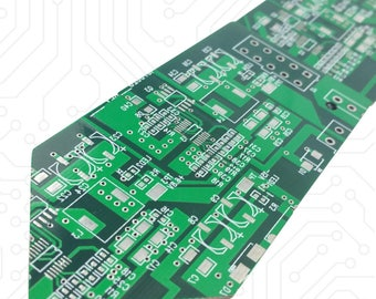 Limited Edition Circuit Board Tie