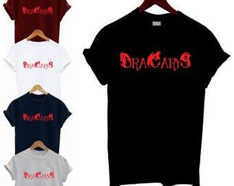 Dracarys T Shirt Daenerys Targaryen Fire Dragon Great War GOT G.O.T Game Of Thrones Sexy Hot Woman Unisex Tee Slouch Tv Show Season 7 Ep 4