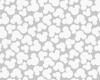 Mickey Mouse fabric disney cotton 1/4 yard for quilting