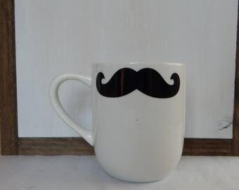 Handlebar Mustache Mug, Small