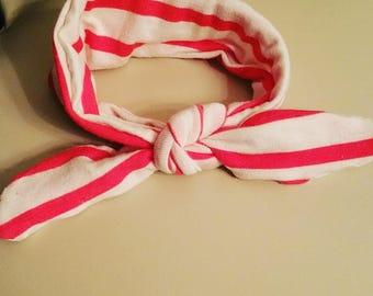 Baby girl head knot tie